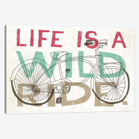 Road Trip Wild Ride Canvas Print #WAC2270} by Oliver Towne Canvas Art