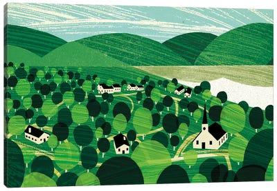 Vermont Canvas Art Print