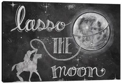 Lasso the Moon Canvas Art Print