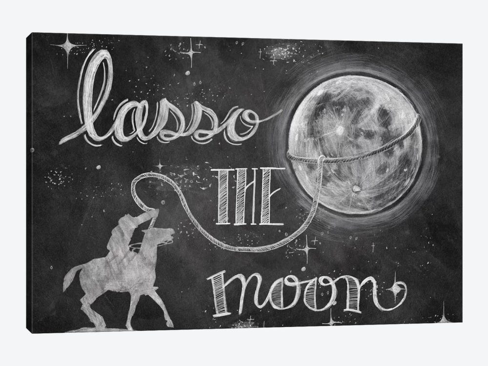 Lasso the Moon by Mary Urban 1-piece Canvas Art