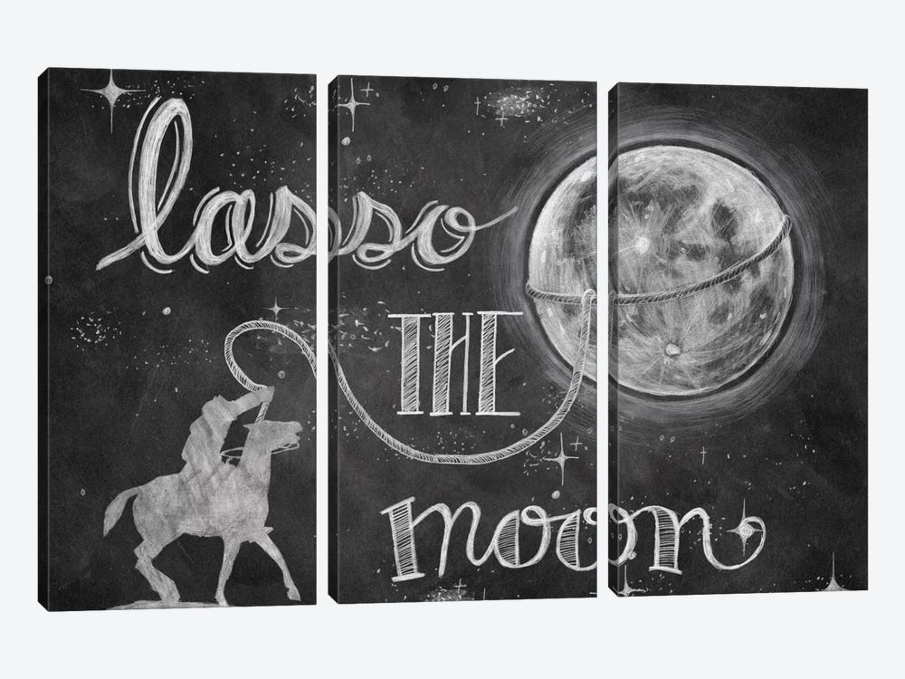 Lasso the Moon by Mary Urban 3-piece Canvas Art
