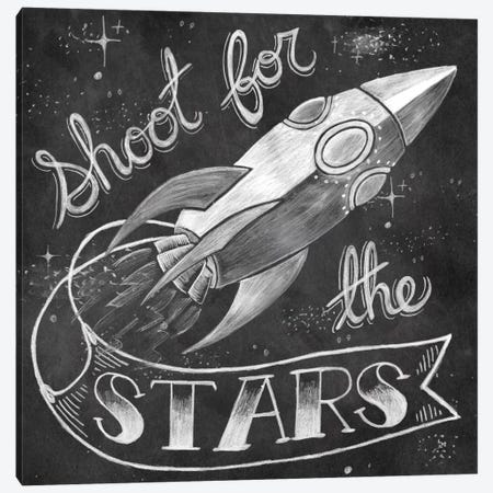 Shoot for the Stars Canvas Print #WAC2285} by Mary Urban Canvas Wall Art