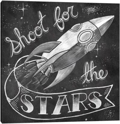 Shoot for the Stars Canvas Art Print