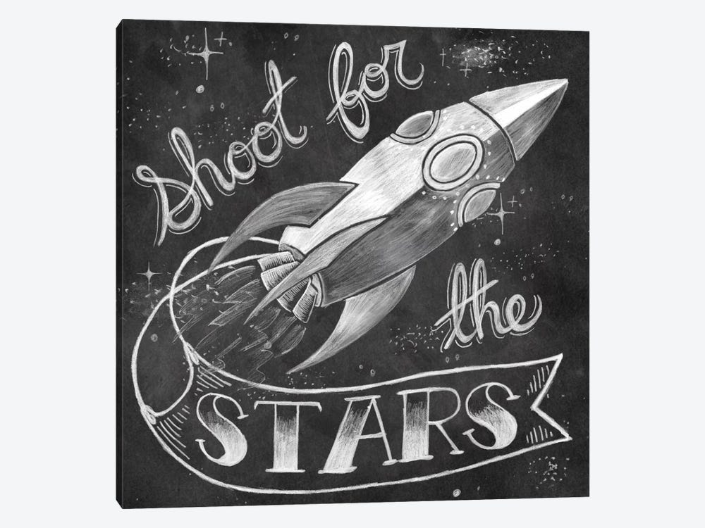 Shoot for the Stars by Mary Urban 1-piece Canvas Artwork