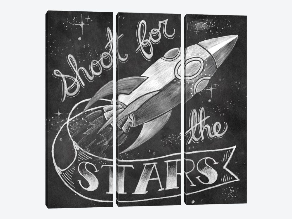 Shoot for the Stars by Mary Urban 3-piece Canvas Artwork