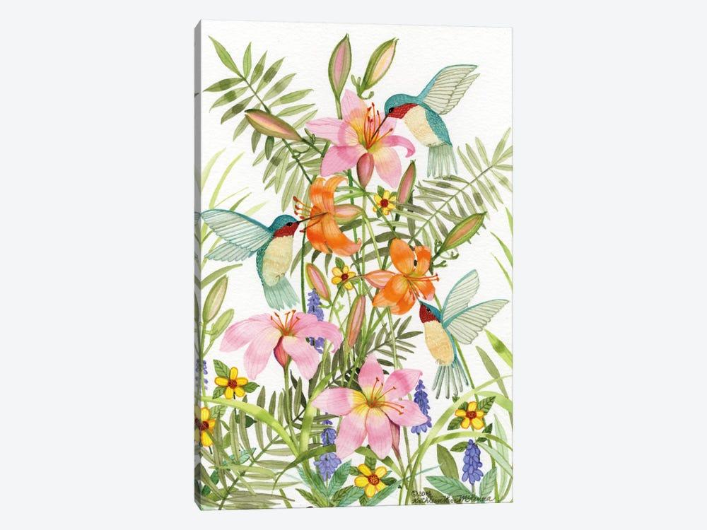 Anniversary Daylilies by Kathleen Parr McKenna 1-piece Canvas Art Print