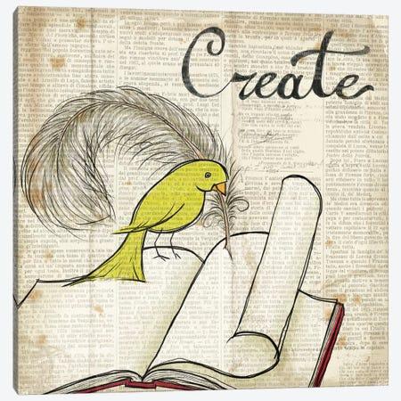Bird Inspiration - Create Canvas Print #WAC2307} by Elyse DeNeige Canvas Art Print