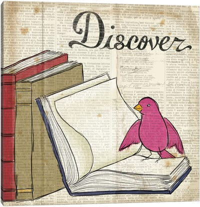 Bird Inspiration - Discover Canvas Print #WAC2308