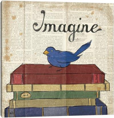 Bird Inspiration - Imagine Canvas Print #WAC2309