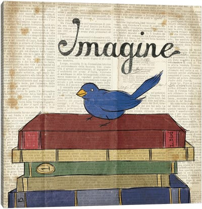 Bird Inspiration - Imagine Canvas Art Print