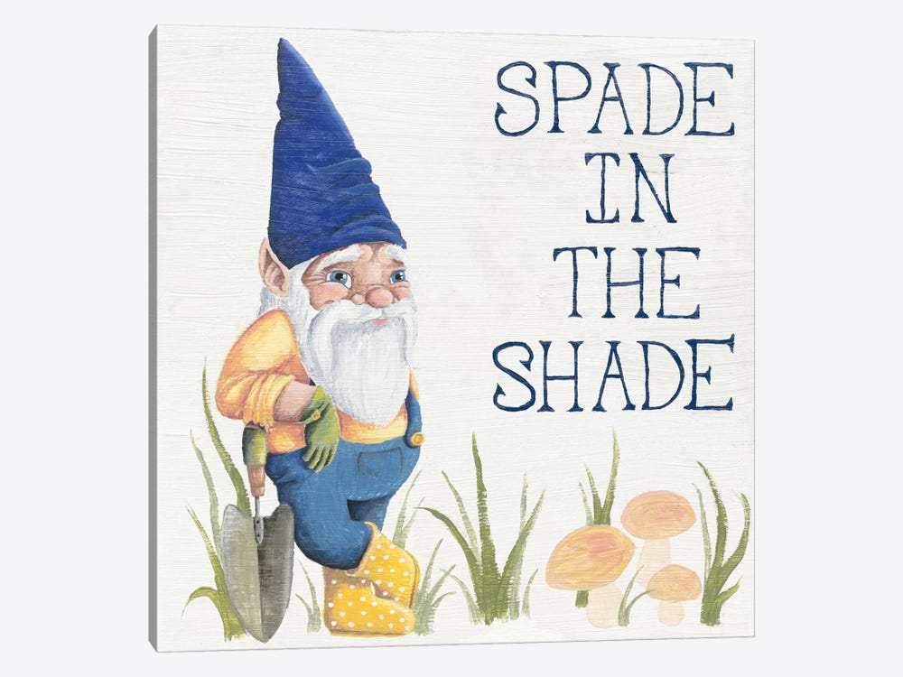 Spade in the Shade by Elyse DeNeige 1-piece Canvas Print