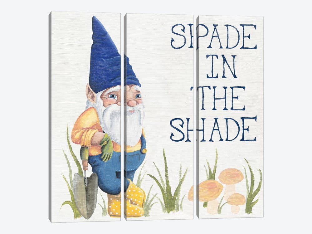 Spade in the Shade by Elyse DeNeige 3-piece Canvas Art Print