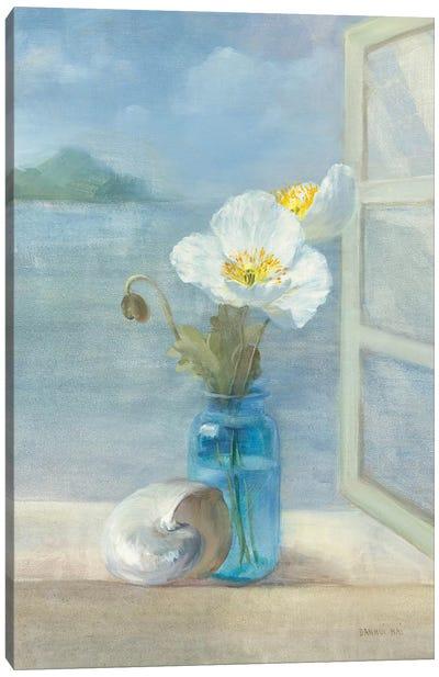 Coastal Floral II Canvas Print #WAC234