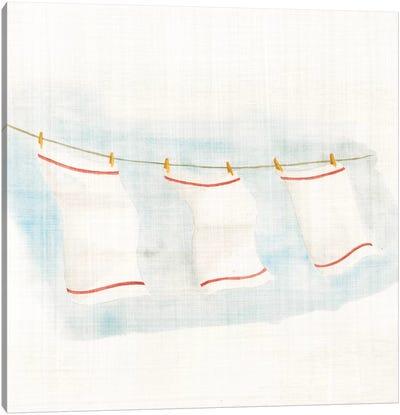My Beach House Weekend Series: Towels Canvas Print #WAC2364