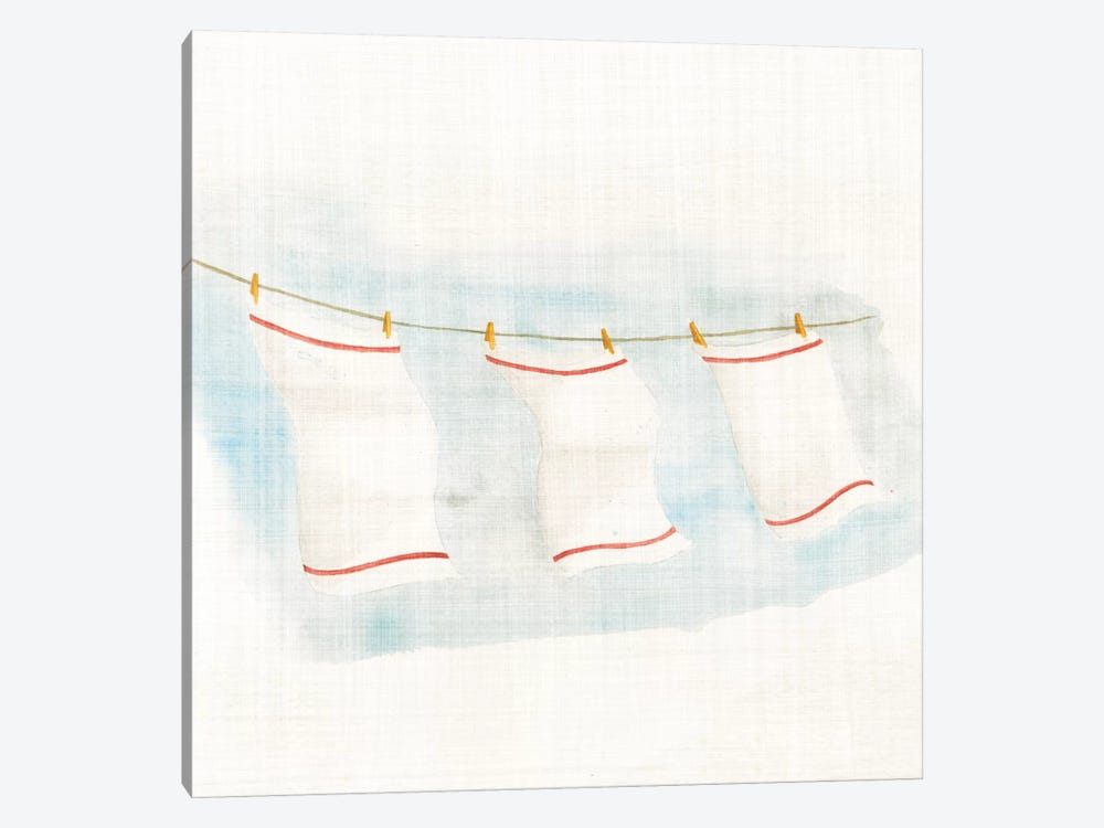 Towels by Elyse DeNeige 1-piece Canvas Wall Art