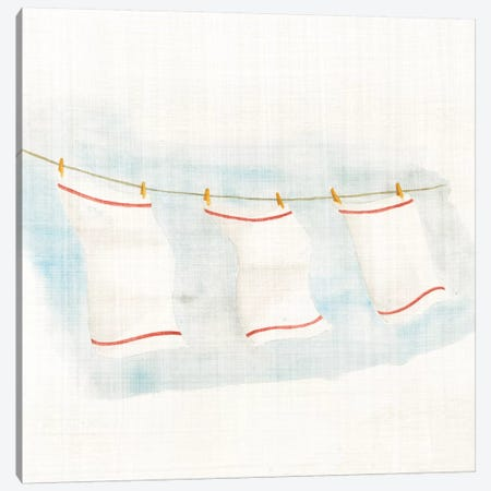 Towels 3-Piece Canvas #WAC2364} by Elyse DeNeige Canvas Art Print