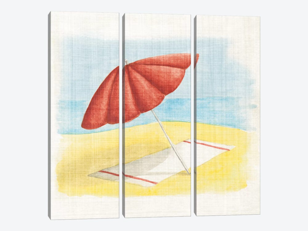 Umbrella by Elyse DeNeige 3-piece Canvas Print
