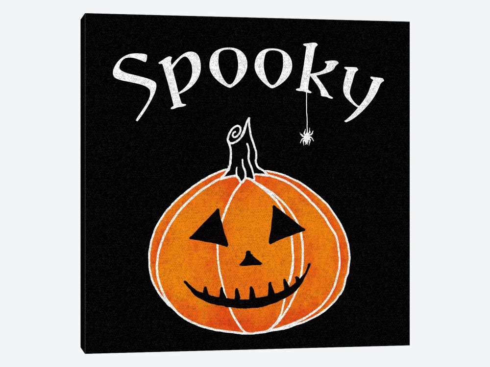 Spooky Jack-O'-Lanterns I by Elyse DeNeige 1-piece Canvas Wall Art