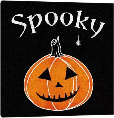 Spooky Jack-O'-Lanterns I Canvas Art Print