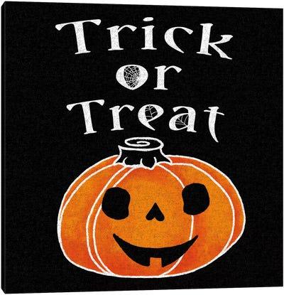 Spooky Jack-O'-Lanterns III Canvas Art Print