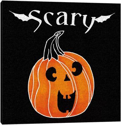 Spooky Jack-O'-Lanterns IV Canvas Art Print