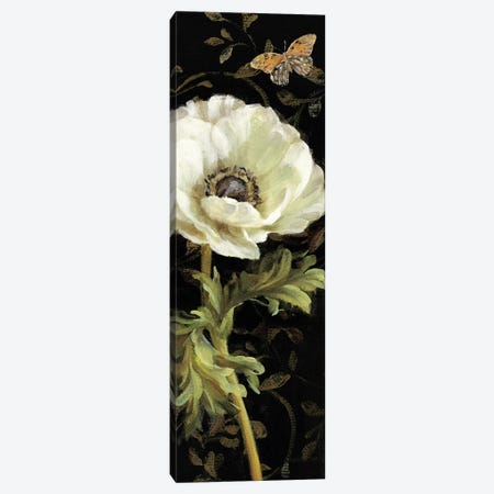 Jardin Paris Florals I Canvas Print #WAC237} by Danhui Nai Canvas Art