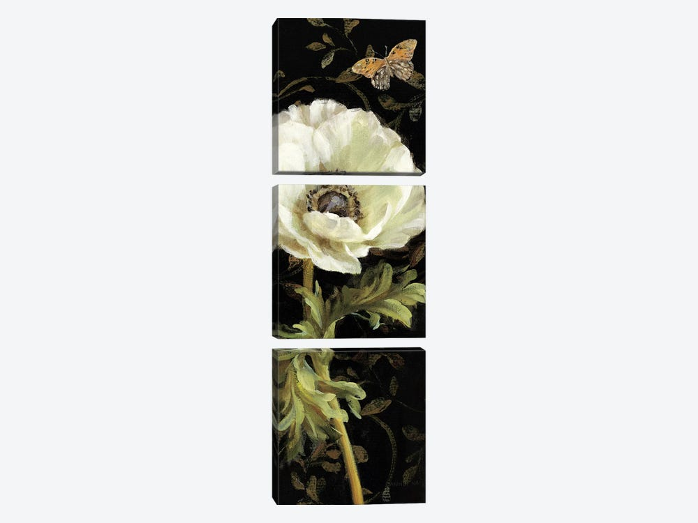Jardin Paris Florals I by Danhui Nai 3-piece Art Print