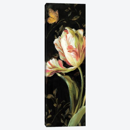 Jardin Paris Florals II Canvas Print #WAC238} by Danhui Nai Art Print