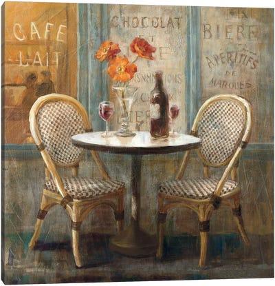 Meet Me at Le Cafe I Canvas Print #WAC239