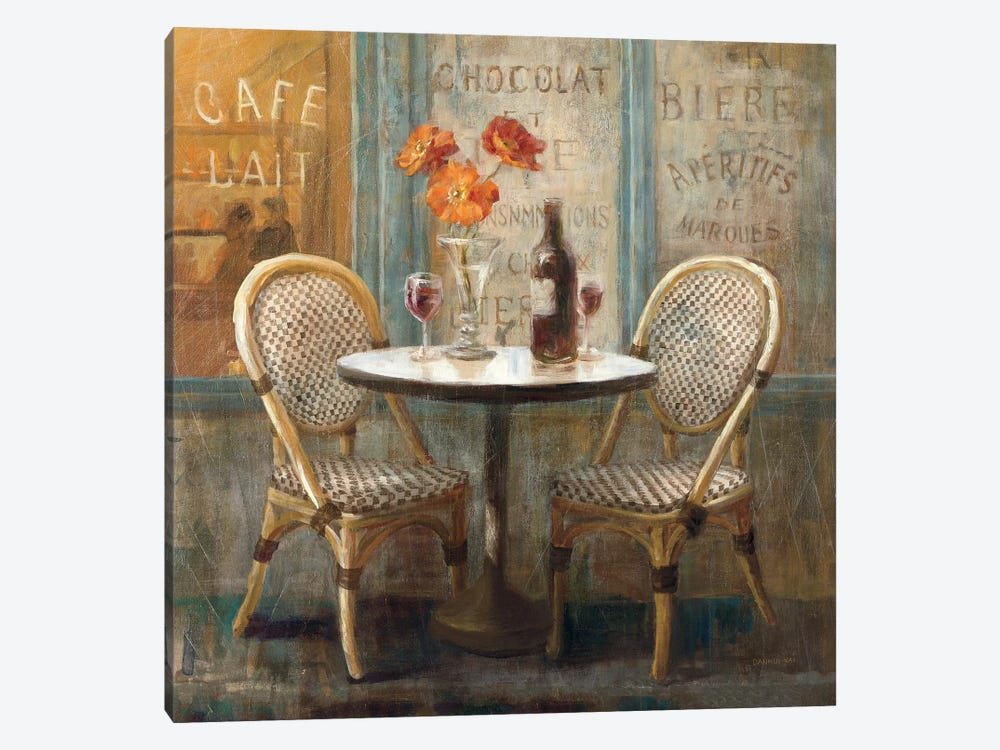 Meet Me at Le Cafe I by Danhui Nai 1-piece Canvas Art Print