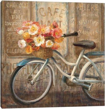 Meet Me at Le Cafe II Canvas Print #WAC240