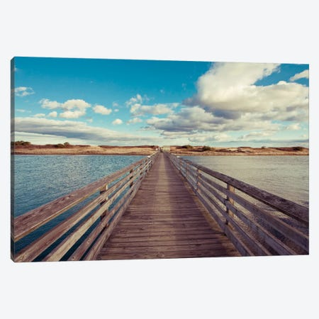Bridge to the Beach Canvas Print #WAC2443} by Katherine Gendreau Canvas Print
