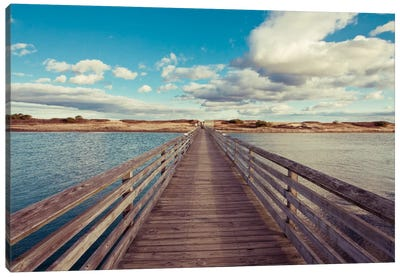 Bridge to the Beach Canvas Print #WAC2443