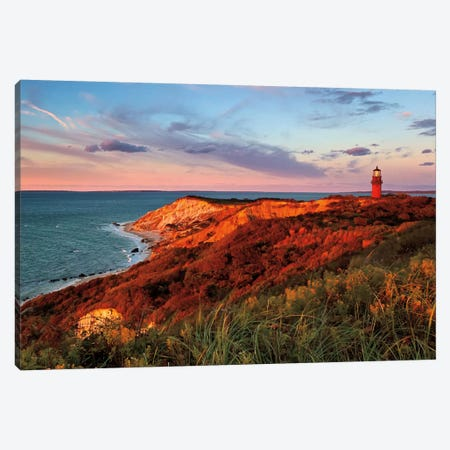 Gay Head Sunset Canvas Print #WAC2451} by Katherine Gendreau Canvas Artwork