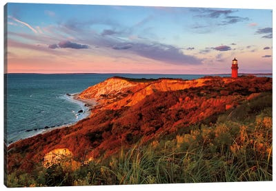 Gay Head Sunset Canvas Art Print