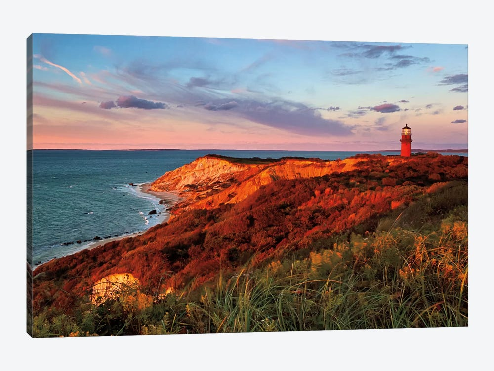 Gay Head Sunset by Katherine Gendreau 1-piece Canvas Art Print