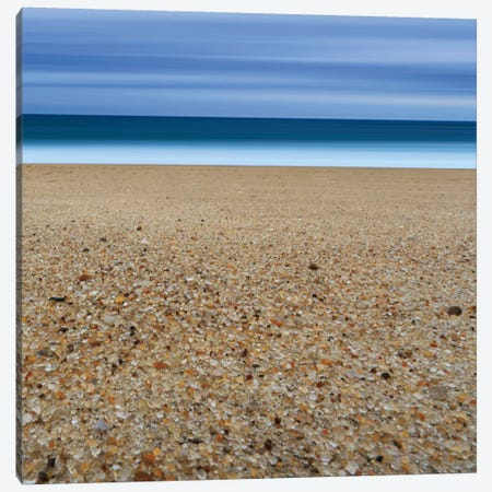 Glass Sand Canvas Print #WAC2452} by Katherine Gendreau Canvas Art