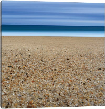 Glass Sand Canvas Art Print