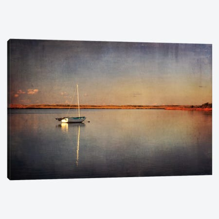 Last Boat in the Bay 3-Piece Canvas #WAC2454} by Katherine Gendreau Canvas Print