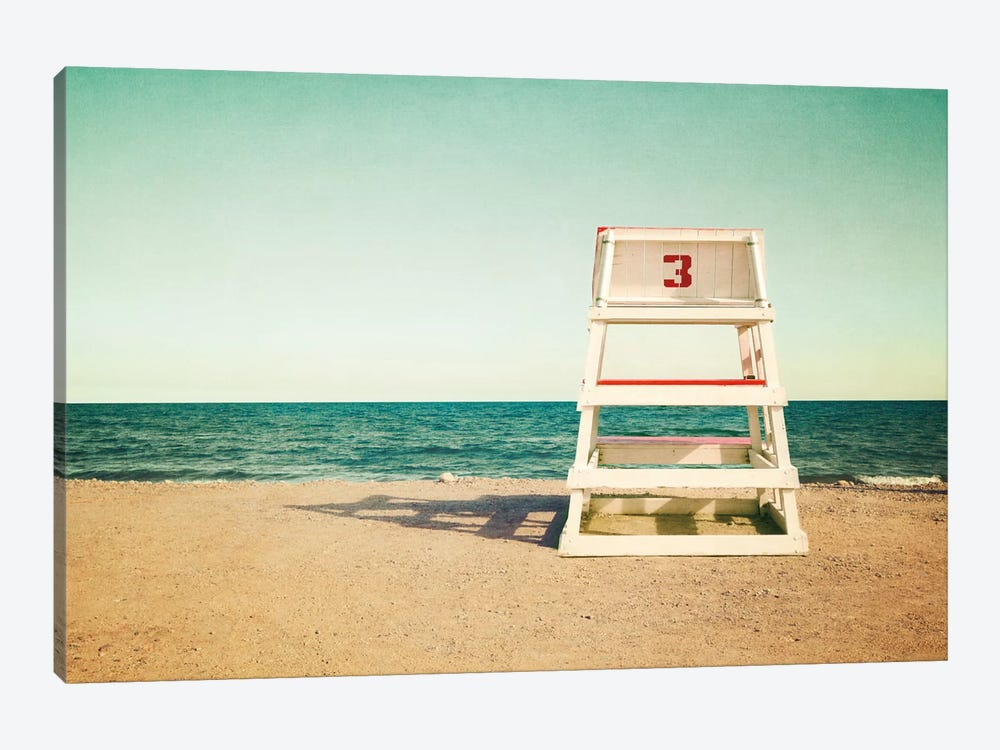 Lifeguard Station no3 by Katherine Gendreau 1-piece Art Print