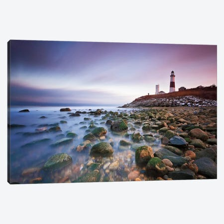 Montauk Point Sunset Canvas Print #WAC2456} by Katherine Gendreau Canvas Print