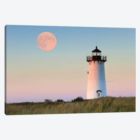 Moon Over Martha's Vineyard Canvas Print #WAC2457} by Katherine Gendreau Canvas Art Print