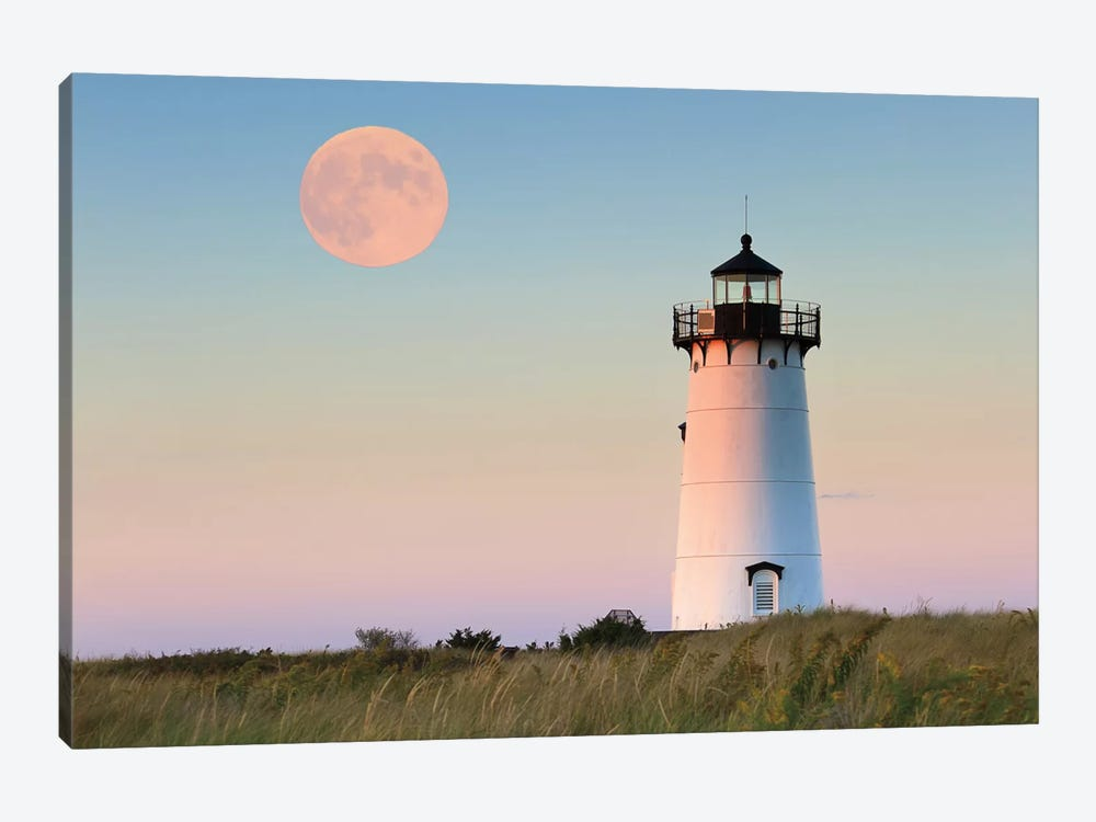 Moon Over Martha's Vineyard by Katherine Gendreau 1-piece Canvas Art Print