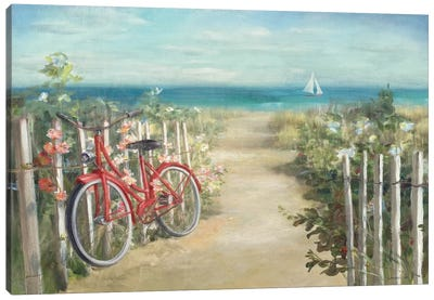 Summer Ride Crop Canvas Art Print