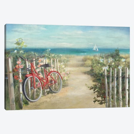 Summer Ride Crop Canvas Print #WAC245} by Danhui Nai Canvas Print
