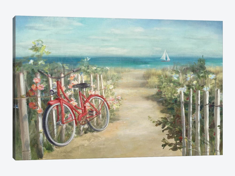 Summer Ride Crop by Danhui Nai 1-piece Canvas Artwork