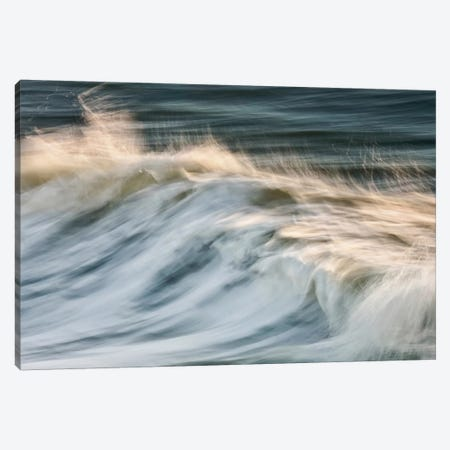 South Beach Surf Canvas Print #WAC2466} by Katherine Gendreau Canvas Art