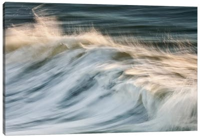 South Beach Surf Canvas Print #WAC2466