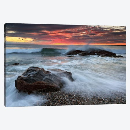Splash Boom Canvas Print #WAC2467} by Katherine Gendreau Canvas Wall Art