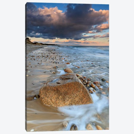 Squibnocket Sunset I Canvas Print #WAC2468} by Katherine Gendreau Canvas Art Print